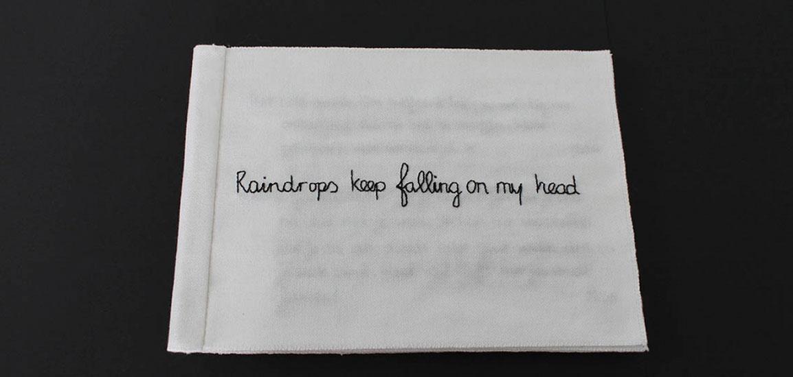 Raindrops keep falling on my head, detail
